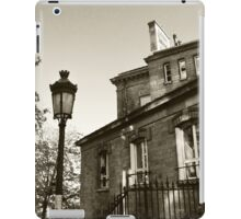 The apartments of Montmartre  version 2, B&W iPad Case/Skin