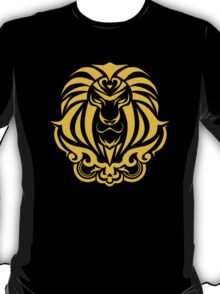 Zodiac Sign Leo Gold T-Shirt