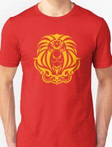 Zodiac Sign Leo Gold T-Shirt