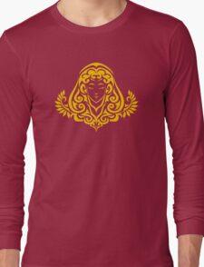 Zodiac Sign Virgo Gold Long Sleeve T-Shirt