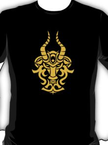 Zodiac Sign Capricorn Gold T-Shirt