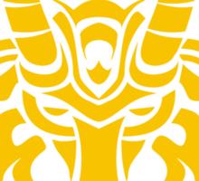 Zodiac Sign Capricorn Gold Sticker