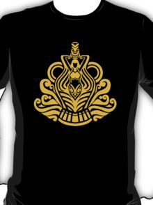 Zodiac Sign Aquarius Gold T-Shirt