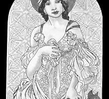 Black Magic Woman by redqueenself