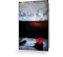 Misty Rose III Greeting Card