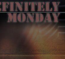 Definitely Monday Desktop Background by AndrewBerry