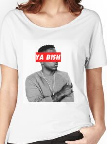 "Kendrick Lamar ""YA BISH"" OBEY Style Women's Relaxed Fit T-Shirt"