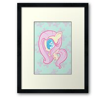 Weeny My Little Pony- Fluttershy Framed Print