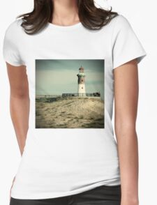 End of slope Womens Fitted T-Shirt