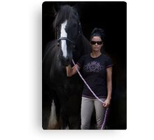 MISS KATIE PRICE Canvas Print
