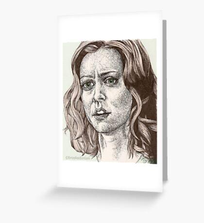 Tabula Rasa - Willow - Buffy S6E8 Greeting Card