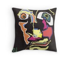 Distortion Throw Pillow