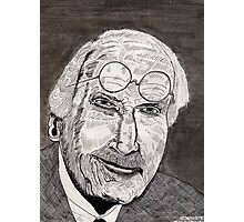 47 - C.G.JUNG - DAVE EDWARDS - PEN & INK - 1981 Photographic Print