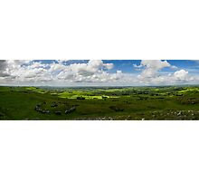Loughcrew Panorama Photographic Print