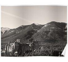 Fairmont Banff Springs Poster