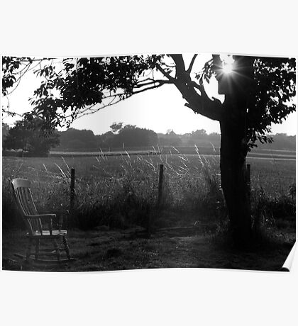 Lonely Arm Chair Poster