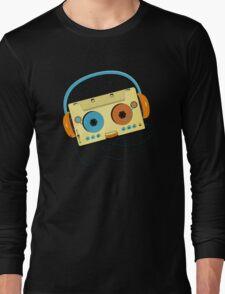 Mr. MP3 Cassette Long Sleeve T-Shirt