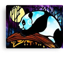 The Adventures of a Panda Canvas Print