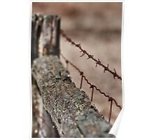 Barriers - ravaged by time... Poster
