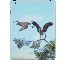 Great Blue Herons iPad Case/Skin