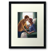 In Sickness and in Health Framed Print