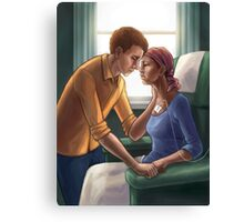 In Sickness and in Health Canvas Print