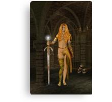 Queen Gedren .. Sorceress Canvas Print