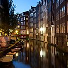 Canal By Night by phil decocco