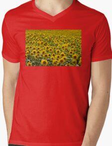 Sunflowers Mens V-Neck T-Shirt