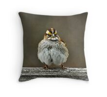 Tough-Guy Throw Pillow