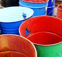 barrels by Bruce Miller