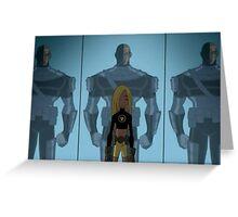 Teen Titans - Terra - House of Mirrors Greeting Card