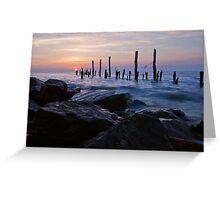 Delaware Bay Sunrise Greeting Card