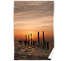 Sunrise on the Bay Poster