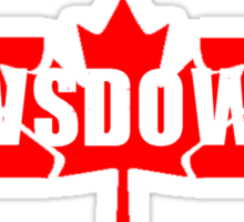 Rowsdower! Sticker