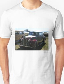 Packard #3 - Red & Grey Coupe Unisex T-Shirt