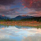 Vermillion Lakes by Cameron B