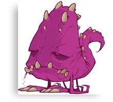 Monster-vector Canvas Print