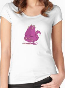 Monster-vector Women's Fitted Scoop T-Shirt