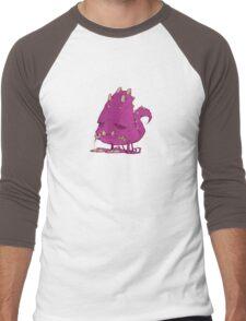 Monster-vector Men's Baseball ¾ T-Shirt
