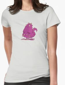 Monster-vector Womens Fitted T-Shirt