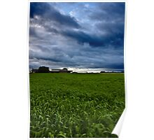 Storm Clouds Rolling In Poster