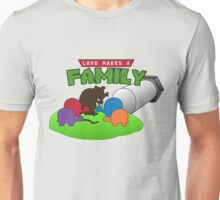 TMNT Love Makes a Family Unisex T-Shirt
