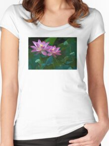 Life And Beauty Women's Fitted Scoop T-Shirt