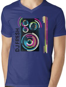 DJ Fresh Mens V-Neck T-Shirt