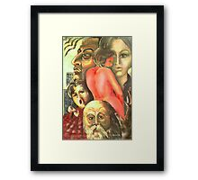 ...once upon a time... Framed Print