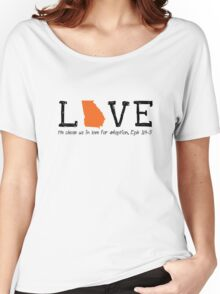 Love: Domestic Adoption Women's Relaxed Fit T-Shirt