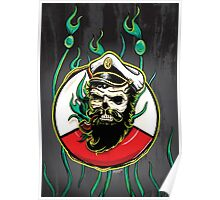 Davy Jones - Grey Poster