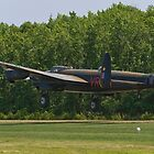 Avro Lancaster Mk X  by Robert Burdick