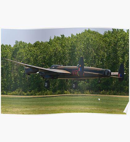 Avro Lancaster Mk X  Poster